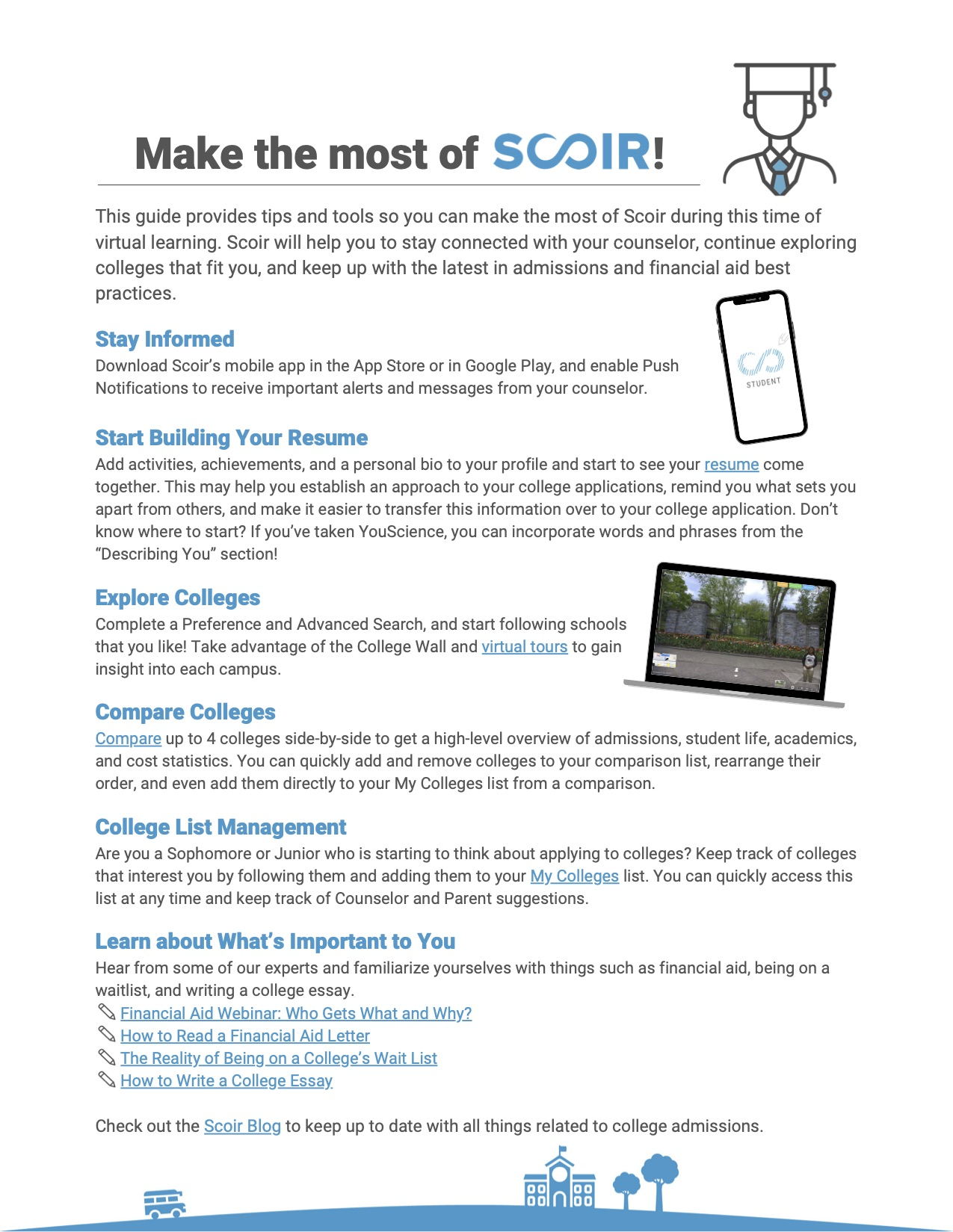 Students - Make the Most of Scoir copy